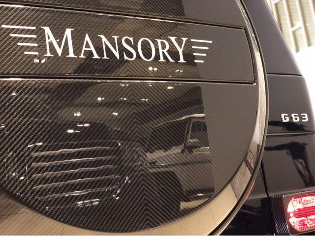 奔驰G63 Mansory黑武士版现车特惠限量促销